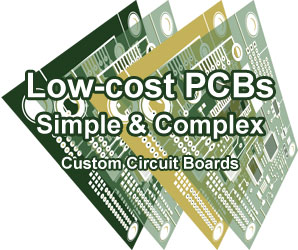 low cost PCBs